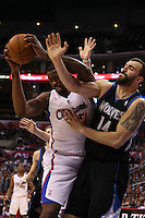 11/28/12 Los Angeles, CA: Minnesota Timberwolves center Nikola Pekovic #14 during an NBA game between the Los Angeles Clippers and the Minnesota Timberwolves played at Staples Center where the Clippers defeated the Timberwolves 101-95.