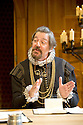 Twelfth Night I by William Shakespeare. A Shakespeare's Globe Production directed by Tim Carroll. With Stephen Fry as Malvolio. Opens at The Apollo Theatre  on 17/11/12. CREDIT Geraint Lewis