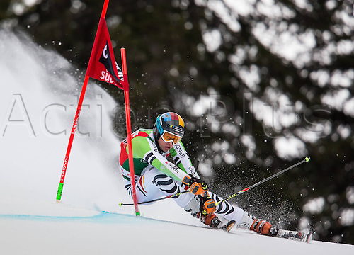 22.12.2013, Gran Risa, Alta Badia, ITA, FIS Ski Weltcup, Alta Badia,  Stefan Luitz (GER)  in action during mens Giant Slalom of the Alta Badia
