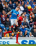 05.05.2018 Rangers v Kilmarnock: James Tavernier and Kirk Broadfoot