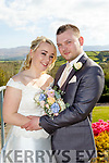 Lisa Waldron, Tralee, daughter of Cecil&Honor and Paul Colloff, Tralee ( formally UK ) who married last Friday April 21st in St Brendans Church, Tralee, with Fr Patsy Lynch officiating. Bestman was Seamus Brosnan, groomsmen were Karel Kraus&Terry Burke. 1st bridesmaid was Emma Waldron, others were Laura Dunworth&Sinead O'Shea. The reception was in the Ballyroe Heights hotel, Tralee and the couple will reside in Tralee.