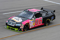 May 1, 2009; Richmond, VA, USA; NASCAR Sprint Cup Series driver Trevor Boys during practice for the Russ Friedman 400 at the Richmond International Raceway. Mandatory Credit: Mark J. Rebilas-