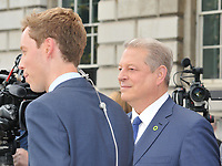 Martin Stew and Al Gore at the &quot;An Inconvenient Sequel: Truth to Power&quot; Film4 Summer Screen opening gala, Somerset House, The Strand, London, England, UK, on Thursday 10 August 2017.<br /> CAP/CAN<br /> &copy;CAN/Capital Pictures