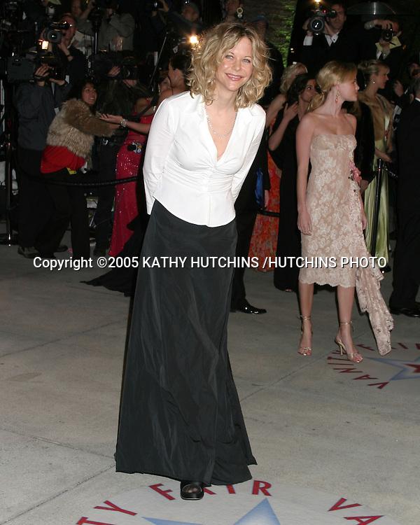 MEG RYAN.VANITY FAIR OSCAR PARTY 2005.MORTONS .W. HOLLWOOD, CA.FEBRUARY 28, 2005.©2005 KATHY HUTCHINS /HUTCHINS PHOTO...