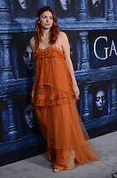 Hannah Murray @ the Los Angeles premiere of HBO 'Game of Thrones' season 6 held @ the Chinese theatre.<br /> April 10, 2016