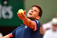 Dominic Thiem of Austria during Day 15 (Men's Final Day) of the French Open 2018 on June 10, 2018 in Paris, France. (Photo by Dave Winter/Icon Sport)