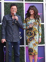 Donny and Marie receive The Key to The Las Vegas Strip