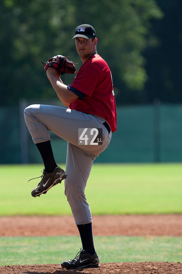 Baseball - MLB European Academy - Tirrenia (Italy) - 22/08/2009 - Berry Van Donselaar (Netherlands)