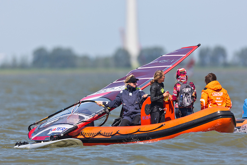 25-05-2012 / Medemblik (NED) / Delta Lloyd Regatta / Day 4 / RSX Women / de GEUS Lilian (NED)