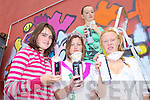 SPRAY: Taking part in the graffiti painting of the Listowel Community and Sports Centre on Thursday last were l-r: Aoife Shine, Siobhan Keating, Amy Lyons, Ciara Gallagher.