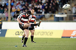 Blair Feeney kicks for goal during the Air NZ Cup rugby game between Bay of Plenty & Counties Manukau played at Blue Chip Stadium, Mt Maunganui on 16th of September, 2006. Bay of Plenty won 38 - 11.