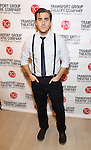 Rowan Vickers attends the Transport Group Theatre Company 'A Toast to the Artist - An Evening with Mary-Mitchell Campbell & Friends'  at The The Times Center on February 6, 2017 in New York City.