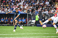 Kylian Mbappe of France score a goal during the World Cup Final match between France and Croatia at Luzhniki Stadium on July 15, 2018 in Moscow, Russia. (Photo by Anthony Dibon/Icon Sport)