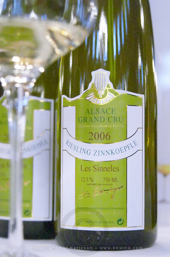 riesling zinnkoepfle gc les sinneles dom e rominger westhalten alsace france