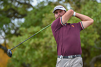 Joost Luiten (NED) watches his tee shot on 2 during day 1 of the Valero Texas Open, at the TPC San Antonio Oaks Course, San Antonio, Texas, USA. 4/4/2019.<br /> Picture: Golffile   Ken Murray<br /> <br /> <br /> All photo usage must carry mandatory copyright credit (&copy; Golffile   Ken Murray)