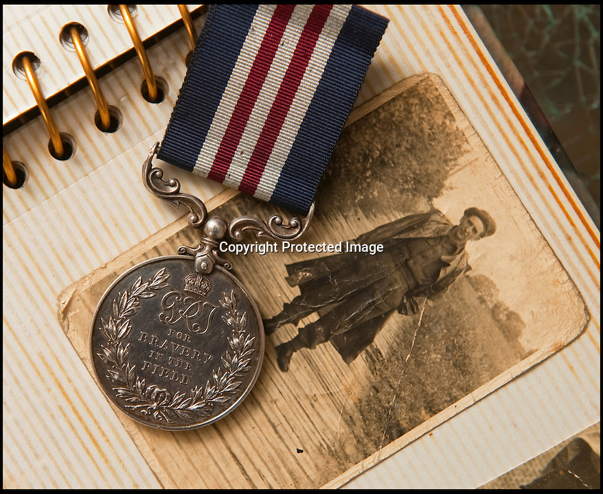 BNPS.co.uk (01202 558833)<br /> Pic: PhilYeomans/BNPS<br /> <br /> Sapper James Angel in Germany during WW2 and his MM restored to the family.<br /> <br /> A nine-year-old girl's school project has led her family to find her war hero great-grandfather's gallantry medal they knew nothing about.<br /> <br /> Elizabeth Turner asked her grandmother Sheila Scott for help with her homework on World War Two and was told about a late relative who fought in Europe.<br /> <br /> James Angel was a modest man who rarely spoke about his experiences of war, including<br /> winning the Military Medal for one incredibly heroic action.<br /> <br /> Sapper Angel put himself in the line of fire when Allied soldiers were pinned down by Germans as they tried to cross the Rhine in Germany in March 1945.<br /> <br /> With great risk to his own life, he drew enemy fire away from his comrades by engaging them with his Bren gun and allowed the British to locate and silence the Germans.<br /> <br /> It is believed that after the war Mr Angel sold his Military Medal to help provide for his seven children.<br /> <br /> His family knew he once had a 'special medal' but had no idea what it was or was for until Elizabeth began her school project two weeks ago.<br /> --