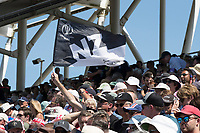 Flying the flag for New Zealand during England vs New Zealand, ICC World Cup Cricket at The Riverside Ground on 3rd July 2019