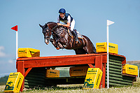 AUS-Christopher Burton rides Kiltown Sherlock during the Cross Country for the Novice Section E. Final-2nd. 2019 GBR-Barbury Castle International Horse Trial. Wiltshire, Great Britain. Friday 5 July. Copyright Photo: Libby Law Photography