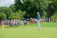 Zach Johnson (USA) barely misses his putt on 1 during Saturday's round 3 of the PGA Championship at the Quail Hollow Club in Charlotte, North Carolina. 8/12/2017.<br /> Picture: Golffile | Ken Murray<br /> <br /> <br /> All photo usage must carry mandatory copyright credit (&copy; Golffile | Ken Murray)