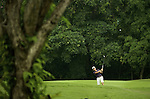SINGAPORE - MARCH 07:  Lorena Ochoa of Mexico plays her second shot on the par four 4th hole during the third round of HSBC Women's Champions at the Tanah Merah Country Club on March 7, 2009 in Singapore. Photo by Victor Fraile / The Power of Sport Images