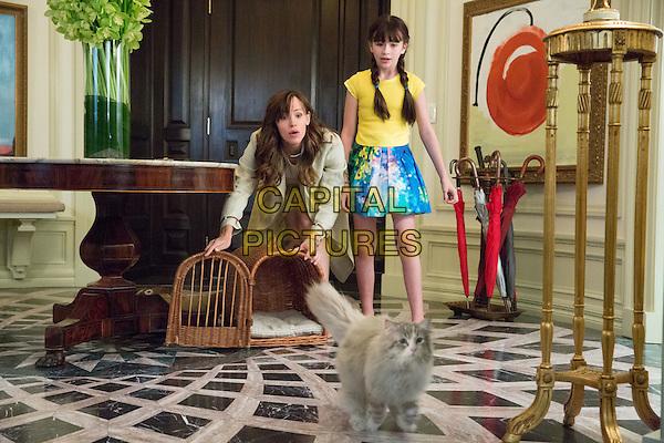 Nine Lives (2016)<br /> Jennifer Garner and Melina Weissman<br /> *Filmstill - Editorial Use Only*<br /> CAP/KFS<br /> Image supplied by Capital Pictures