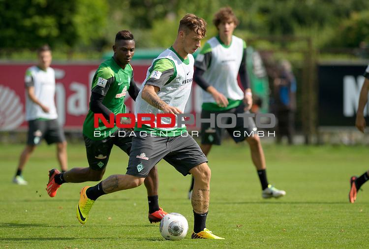 09.08.2013, Trainingsgelaende, Bremen, GER, 1.FBL, Training Werder Bremen, im Bild Marko Arnautovic (Bremen #7)<br /> <br /> Foto &copy; nph / Frisch