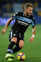 Ciro Immobile of Lazio in action during the Serie A 2018/2019 football match between Frosinone and Lazio at stadio Benito Stirpe, Frosinone, February 4, 2019 <br />  Foto Andrea Staccioli / Insidefoto