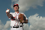 VIERA, FL-  FEBRUARY 23: Pitcher Jordan Zimmermann poses for a portrait during the Washington Nationals Spring Training at Space Coast Stadium in Viera, FL (Photo by Donald Miralle) *** Local Caption ***