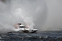 "Ken Brodie II, GP-50 ""Intensity""  (Grand Prix Hydroplane(s)<br /> <br /> Régates de Valleyfield<br /> Salaberry Valleyfield, Québec Canada <br /> 10-12 July, 2015<br /> <br /> ©2015, Sam Chambers"