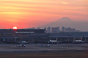 Sunset at Haneda Airport