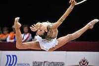 "February 7, 2014 - Tartu, Estonia - ARINA CHAROPA of Belarus performs at ""Miss Valentine 2014"" international tournament."