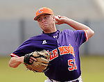 October 25, 2009: Joseph Moorefield of the Clemson Tigers in an intra-squad Orange and Purple scrimmage game at the end of fall practice at Doug Kingsmore Stadium in Clemson, S.C. Photo by: Tom Priddy/Four Seam Images