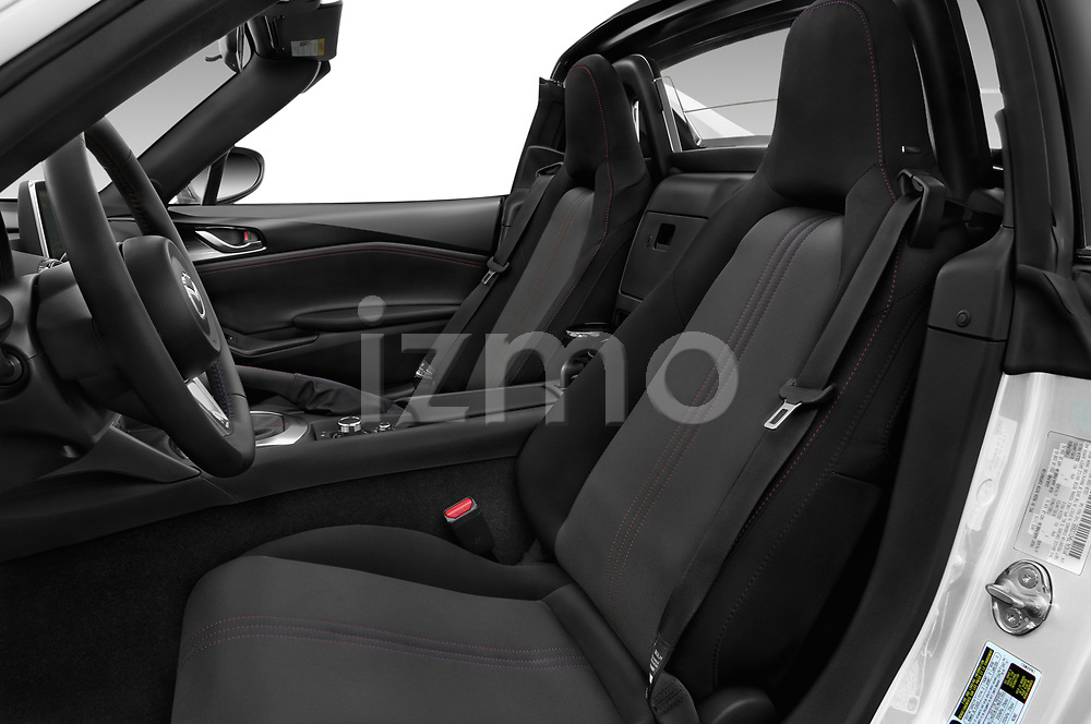 Front seat view of a 2017 Mazda MX-5 RF First Edition 2 Door Targa front seat car photos