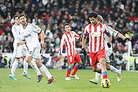 Xabi Alonso and Diego Costa during La Liga Match. December 02, 2012. (ALTERPHOTOS/Caro Marin)