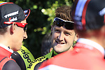 Luke Durbridge (AUS) Mitchelton-Scott at sign on in Fortezza Medicea before the start of Strade Bianche 2019 running 184km from Siena to Siena, held over the white gravel roads of Tuscany, Italy. 9th March 2019.<br /> Picture: Eoin Clarke | Cyclefile<br /> <br /> <br /> All photos usage must carry mandatory copyright credit (© Cyclefile | Eoin Clarke)