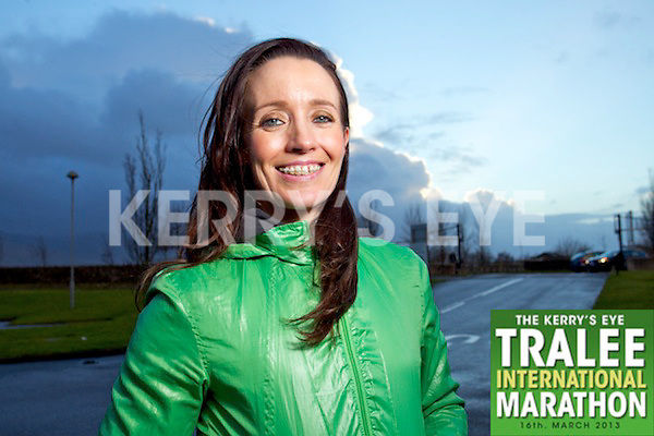 Sharon Costello who is running the Kerry's Eye Tralee International Half-Marathon.