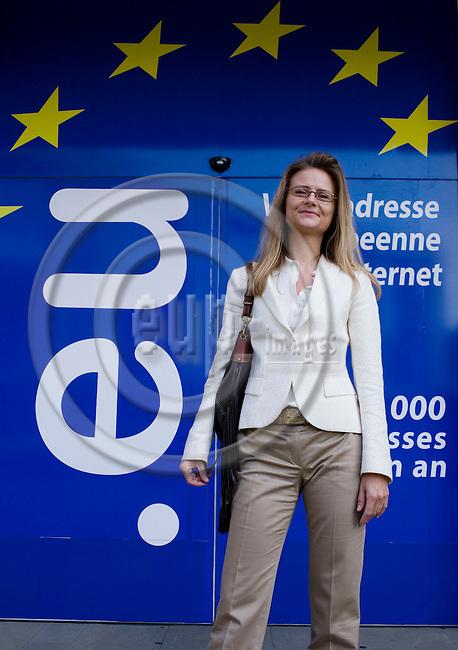 BRUSSELS - BELGIUM - 22 MAY 2007 --  Marie BJERBORG, Director for EU-Office of Danish Energy Association (Dansk Energi). Photo: Erik Luntang/EUP-IMAGES