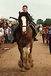 Appleby in Westmorland Horse Fair Cumbria. UK 1980s