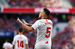 Sevilla FC's Lucas Ocampos -gol La Liga match. Mar 07, 2020. (ALTERPHOTOS/Manu R.B.)