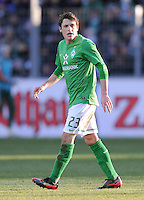 FUSSBALL   1. BUNDESLIGA   SAISON 2011/2012    20. SPIELTAG  05.02.2012 SC Freiburg - SV Werder Bremen Zlatko Junuzovic (SV Werder Bremen)