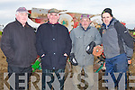 REPAIRS: Carring out Repairs on their plough at the Abbeydorney ploughing competition on Sunday on Corridon Family Land AbbeydorneyL-r: John Joe O'Connell (Ardfert), John O'Halloran (Ballyheigue), Thomas Boyle (Causeway) and Tommy McCarthy (Abbeydorney).