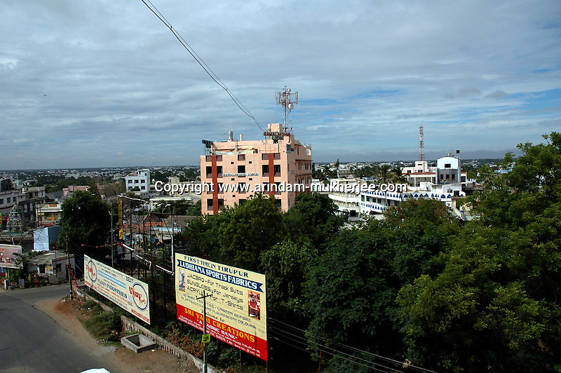 An overview of the town of Tirupur, Tamilnadu. After lifting of quota system in textile export on 1st january 2005. Tirupur has become the biggest foreign currency earning town of India.
