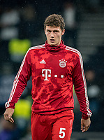 Benjamin Pavard of Bayern Munich pre match during the UEFA Champions League group match between Tottenham Hotspur and Bayern Munich at Wembley Stadium, London, England on 1 October 2019. Photo by Andy Rowland.