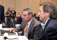 Tony DiCicco, Randy Waldrum. The NWSL draft was held at the Pennsylvania Convention Center in Philadelphia, PA, on January 17, 2014.