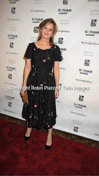 actress Melissa Leo attends IFP'S 21st Annual Gotham Independent Film Awards on November 28, 2011 at Cipriani Wall Street in New York City.