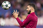 Yannick Ferreira Carrasco of Atletico de Madrid in training prior to the 2016-17 UEFA Champions League match between Atletico Madrid and FC Rostov at the Vicente Calderon Stadium on 01 November 2016 in Madrid, Spain. Photo by Diego Gonzalez Souto / Power Sport Images