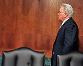"""Actor Martin Sheen departs after giving testimony during a hearing before the United States Senate Committee on the Judiciary Subcommittee on Crime and Terrorism on """"Drug and Veterans Treatment Courts: Seeking Cost-Effective Solutions for Protecting Public Safety and Reducing Recidivism"""" in Washington, D.C. on Tuesday, July 19, 2011..Credit: Ron Sachs / CNP"""