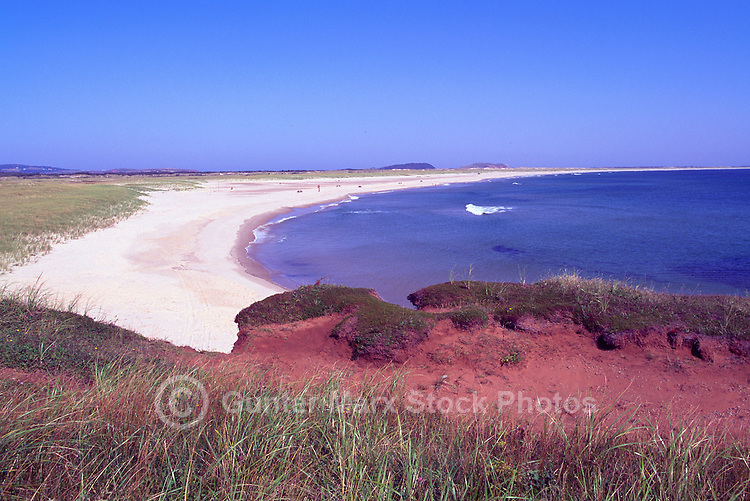 Grosse-Ile, Iles de la Madeleine, Quebec, Canada - Grande Echouerie Beach and East Point Wildlife Reserve along Gulf of St. Lawrence Coastline - (Big Island, Magdalen Islands)