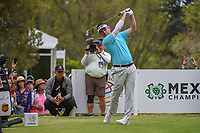 Louis Oosthuizen (RSA) watches his tee shot on 18 during round 4 of the World Golf Championships, Mexico, Club De Golf Chapultepec, Mexico City, Mexico. 2/24/2019.<br /> Picture: Golffile | Ken Murray<br /> <br /> <br /> All photo usage must carry mandatory copyright credit (© Golffile | Ken Murray)