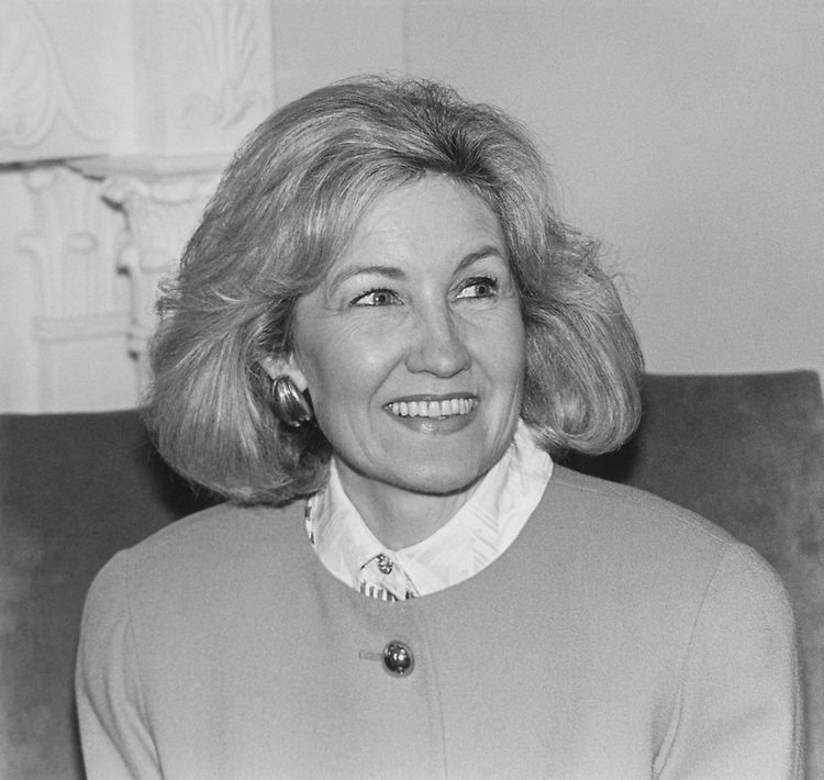 Senate candidate Kay Bailey Hutchison, on June 10, 1993. (Photo by Maureen Keating/CQ Roll Call via Getty Images)
